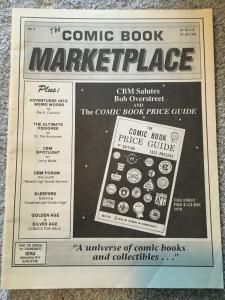 The Comic Book Marketplace # 2 Overstreet Magazine Price Guide