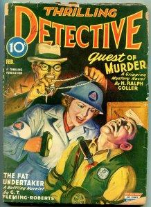 Thrilling Detective February 1944-Asian Menace - Fat Undertaker- Fleming-Roberts