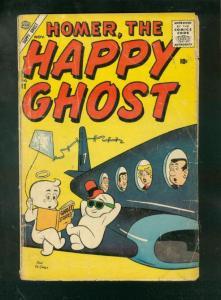 HOMER, THE HAPPY GHOST #11 1956-DAN DeCARLO AIRPLANE CV FR/G