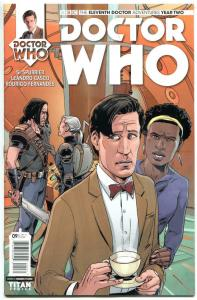 DOCTOR WHO #9 C, NM, 11th, Tardis, 2015, Titan, 1st, more DW in store, Sci-fi