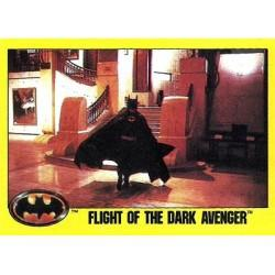 1989 Batman The Movie Series 2 Topps FLIGHT OF THE DARK AVENGER #243