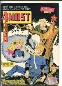 4MOST COMICS V.2#2-FUNNY SKUNK GAG COVER FN
