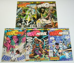 Zero Patrol vol. 2 #1-5 VF/NM complete series - continuity comics - neal adams