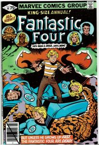 Fantastic Four, King Size #14, 8.0 or Better Sandman and Salem Seven App.