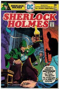 SHERLOCK HOLMES (1975) 1 VF Oct. 1975 COMICS BOOK