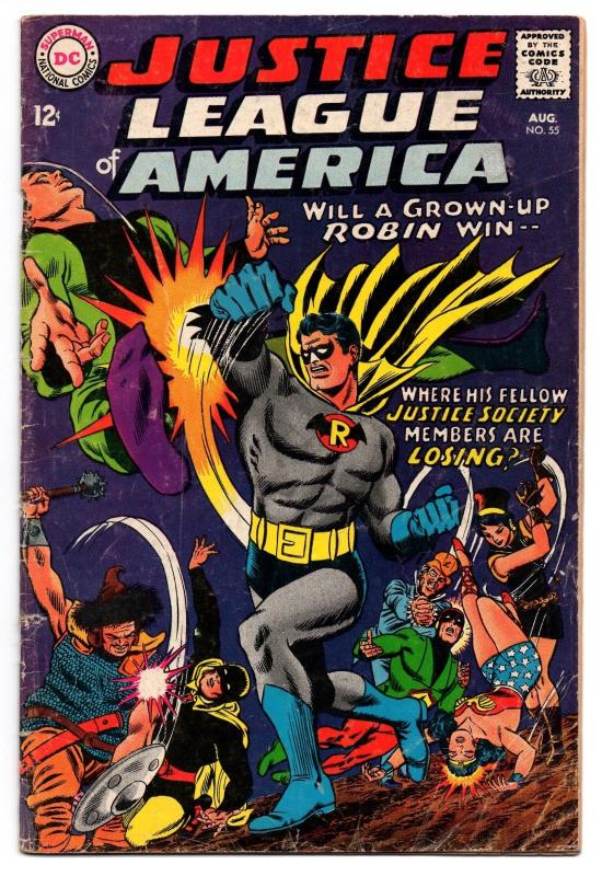 Justice League of America #55 (Aug 1967, DC) - Good