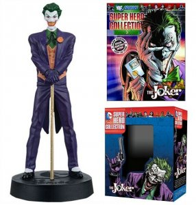 DC Superhero Collection #4 Joker Figure w/Booklet (Eaglemoss, 2015) New!