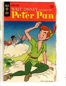 4 Gold Key Comics Peter Pan Walt Disney's Comics & Stories 11 Mickey Donald J277