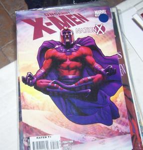UNCANNY X-MEN  521 2010 marvel magneto nation x  matt fraction greg land