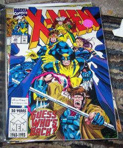 X Men  #20  MAY 1993, Marvel) JUBILEE WOLVERINE  PSYLOCKE GAMBIT