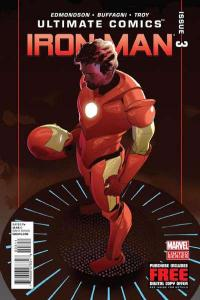 Ultimate Comics Iron Man #3, NM + (Stock photo)