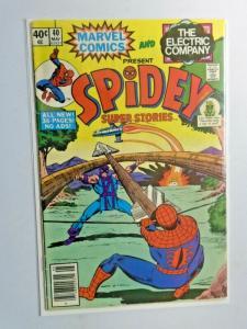 Spidey Super Stories #40 Newsstand 1st Series 4.0 VG (1979)