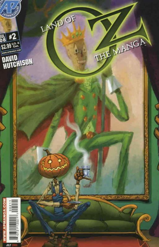 Land of Oz: The Manga #2 VF/NM; Antarctic | save on shipping - details inside