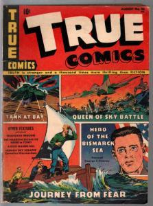 True #26 1943-Parents-WWII era-FDR-Yang Hui Ming-Dr Mayo-VG+