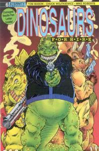 Dinosaurs For Hire (Eternity) #6 FN; Eternity | save on shipping - details insid