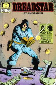 Dreadstar (1982 series) #3, VF (Stock photo)