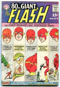 80 Page Giant #4 1964-Flash - DC Silver Age- G/VG