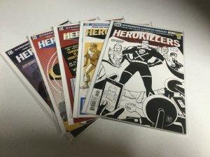 Herokillers 1-5 Nm Near Mint Dynamite Comics