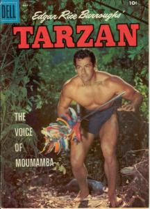 Tarzan (Dell) #104 VG; Dell | low grade comic - save on shipping - details insid