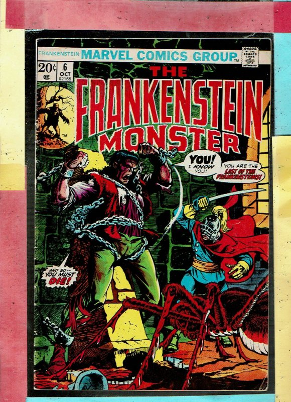 THE FRANKENSEIN MONSTER 6