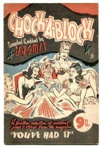 Chock-A-Block by Jasmit- British joke / cartoon book 1943