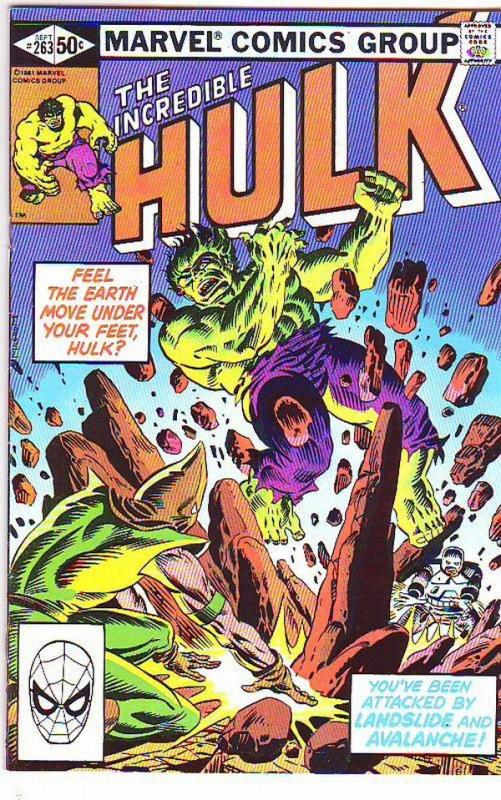 Incredible Hulk #263 (Sep-82) NM- High-Grade Hulk