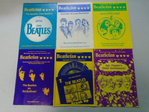 Beatlefan Magazine lot of 10 Sketch issues