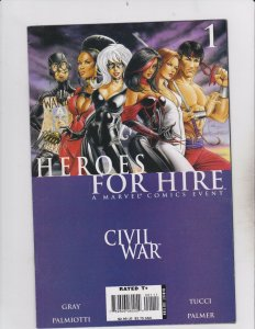 Marvel Comics Group! Heroes for Hire! Issue 1!