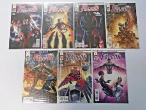 Falcon lot #1 to #8 Eight different books 2nd Series 8.0 grade (2017)