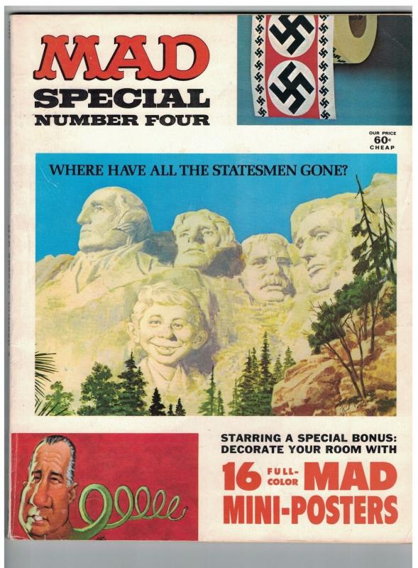 MAD SPECIAL (1971) 4 VG+ with MINI POSTERS
