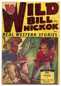 Wild Bill Hickok #1 1949- Canadian printing- Western comic