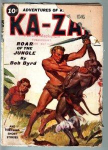 KA-ZAR JAN 1937-MARVEL MYSTERY COMICS CHARACTER-RARE PULP!-G/VG G/VG