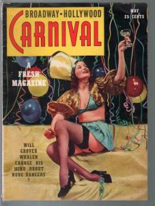 Broadway-Hollywood Carnival #1 5/1939-Elaine Price-WC Fields-cheesecake-FN