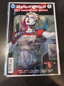 HARLEY QUINN 25th ANNIVERSARY SPECIAL #1 DADDY'S LIL MONSTER JIM LEE VARIANT