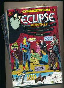 Eclipse Comics Set of 10-ECLIPSE MONTHLY #1-10 FINE/VERY FINE (PF587)