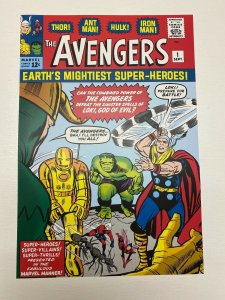 Avengers #1 Marvel Comics poster by Jack Kirby