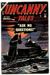 Uncanny Tales #23 1954- Werewolf Atlas horror- Captain America ad VG/F