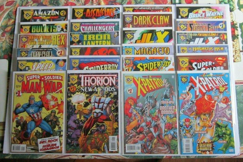 Amalgam Complete 24 Issue Set 1st Prints VF/NM High Grade Marvel DC Crossover