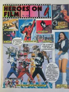 Heroes on Film #2 Superhero Fanzine 1995 Damon Foster Power Rangers Kamen Rider