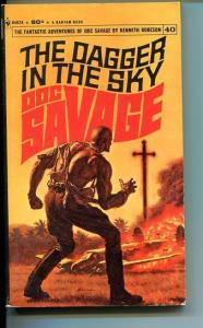 DOC SAVAGE-THE DAGGER IN THE SKY-#40-ROBESON-VG-JAMES BAMA COVER-1ST EDITION VG