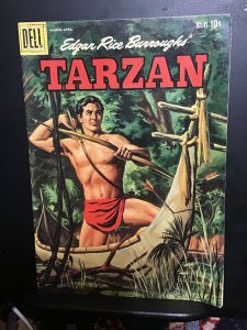 Tarzan #117 (1960)  Mid high grade painted cover silver-age  beauty! FN/VF Wow