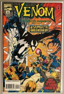 Venom a symbiote unleashed cgc it ! #2 9.4 NM (1995)
