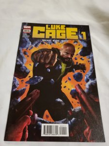 Luke Cage 1 Near Mint  Cover by Rahzzah