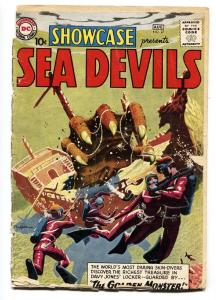 SHOWCASE COMICS #27-SEA DEVILS-RUSS HEATH ART-Grey Tone-bargain copy
