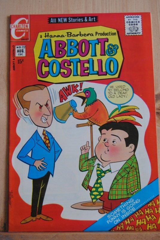 Abbott & Costello, 22, Parot Cover!