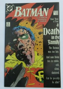 Batman #428 VF/NM 1st Print Death of Robin (Jason Todd) DC Comics 1988