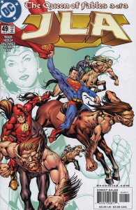 JLA #49 VF/NM; DC | save on shipping - details inside
