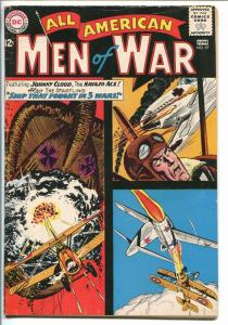 ALL-AMERICAN MEN OF WAR #97-1963-DC-SILVER AGE-JOHNNY CLOUD-vg