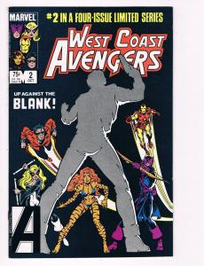 West Coast Avengers # 2 Marvel Comic Books 4 Part Limited Series Hawkeye!!!! S51