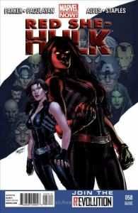 Red She-Hulk #58 (2nd) VF; Marvel | save on shipping - details inside